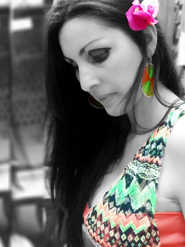 Marisela-Veludo-Multi-Colour-Dress